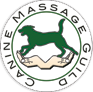 Canine Massage Guild logo for dog massage therapy in Scotland